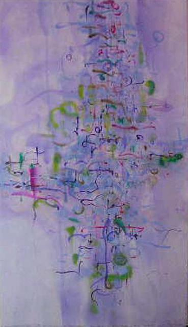 Richard Lazzara  'My Mind Obfuscates Art', created in 1977, Original Pastel.