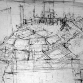 new york studio school drawing room  By Richard Lazzara