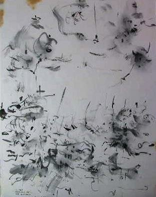 Richard Lazzara Artwork next generation, 1981 Calligraphy, Visionary