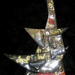 once on the high seas pin ornament By Richard Lazzara