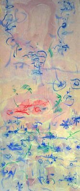 Artist: Richard Lazzara - Title: opening new worlds - Medium: Calligraphy - Year: 1976
