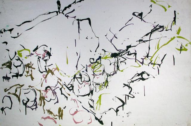 Richard Lazzara  'Painting The Studio Around Me', created in 1972, Original Pastel.
