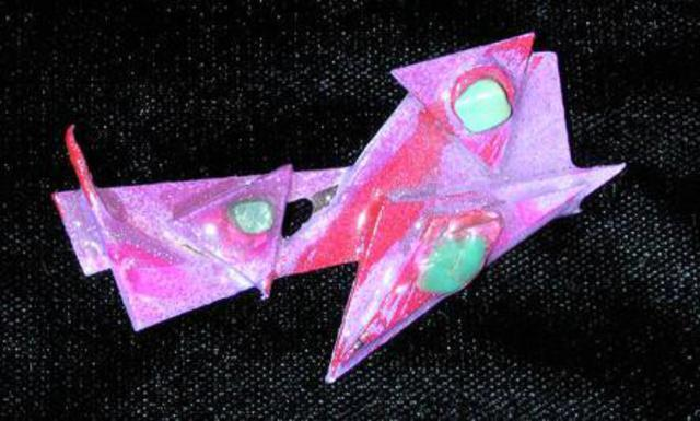 Richard Lazzara peace zones pin ornament 1989