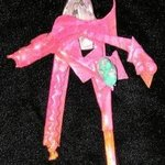 pearl shell backing pin ornament By Richard Lazzara