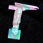 power drill pin ornament By Richard Lazzara