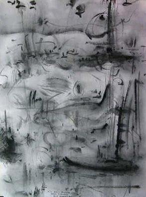 Richard Lazzara Artwork powerful enough art, 1981 Calligraphy, Visionary
