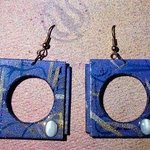 round hole square peg ear ornaments By Richard Lazzara