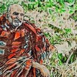 sadhu blanket baba By Richard Lazzara