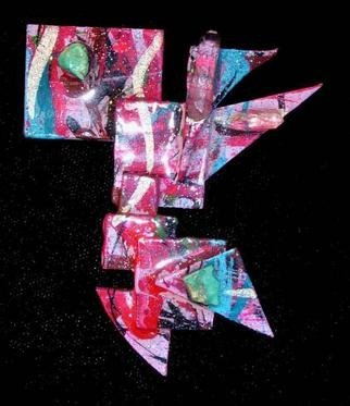 Richard Lazzara Artwork secret pin ornament, 1989 Mixed Media Sculpture, Fashion