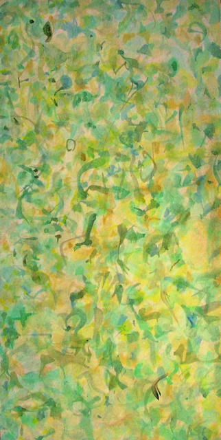 Richard Lazzara  'Seeing Through The Hedge', created in 1976, Original Pastel.