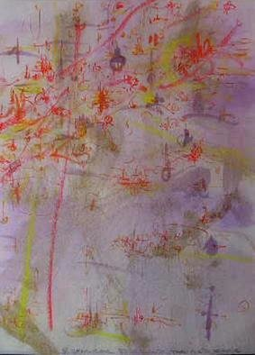 Richard Lazzara Artwork segment partners, 1983 Calligraphy, Visionary