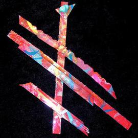 Richard Lazzara: 'selection pin ornament', 1989 Mixed Media Sculpture, Fashion. Artist Description: selection pin ornament from the folio LAZZARA ILLUMINATION DESIGN is available at