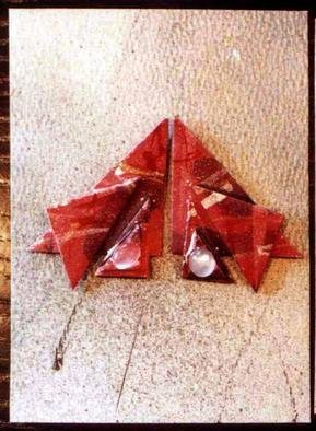 Richard Lazzara: 'sky ear ornaments', 1989 Mixed Media Sculpture, Fashion. Artist Description: sky ear ornaments from the folio LAZZARA ILLUMINATION DESIGN are available at