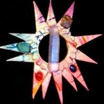 solar knowledge pin ornament By Richard Lazzara