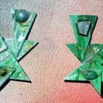 spring green ear ornaments By Richard Lazzara
