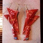 starship ear ornaments By Richard Lazzara