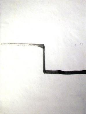 Artist: Richard Lazzara - Title: step in time - Medium: Calligraphy - Year: 1975
