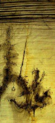 Artist: Richard Lazzara - Title: submerged in truth - Medium: Calligraphy - Year: 1976