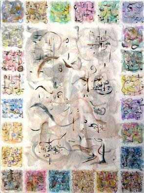 Artist: Richard Lazzara - Title: suitable for framing - Medium: Calligraphy - Year: 1975