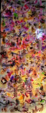 Artist: Richard Lazzara - Title: sunspots - Medium: Calligraphy - Year: 1976