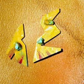 talking shapes poetry ear ornaments