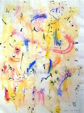 Artist: Richard Lazzara - Title: thanks - Medium: Calligraphy - Year: 1975