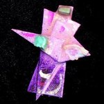 three stones pin ornament By Richard Lazzara