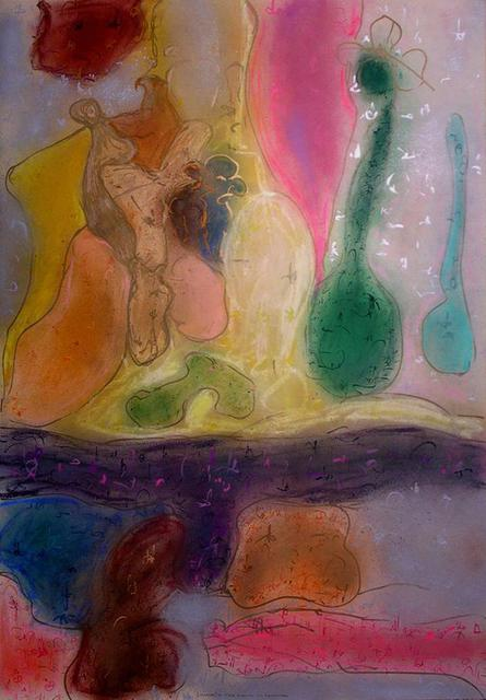 Richard Lazzara  'Time Plenty To Remember', created in 1988, Original Pastel.
