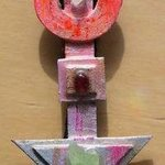 time shapes bolo or pin ornament By Richard Lazzara