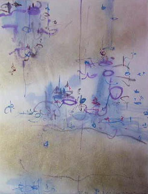 Richard Lazzara  'Too Smart For Art', created in 1983, Original Pastel.