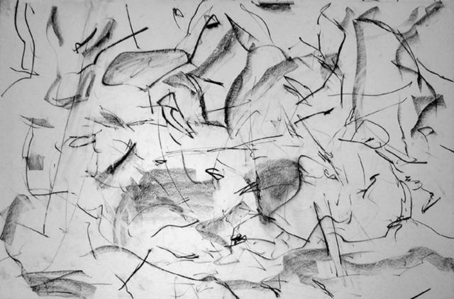 Richard Lazzara  'Understanding Dynamics Of  Painting', created in 1972, Original Pastel.
