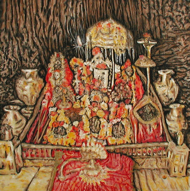 Richard Lazzara  'Vaishno Devi', created in 1998, Original Pastel.