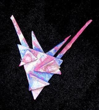 Richard Lazzara: 'victory pin ornament', 1989 Mixed Media Sculpture, Fashion. Artist Description: victory pin ornament from the folio LAZZARA ILLUMINATION DESIGN is available at