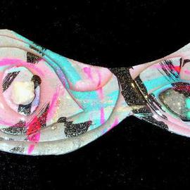 Richard Lazzara: 'whale of idea pin ornament', 1989 Mixed Media Sculpture, Fashion. Artist Description: whale of idea pin ornament from the folio LAZZARA ILLUMINATION DESIGN is available at