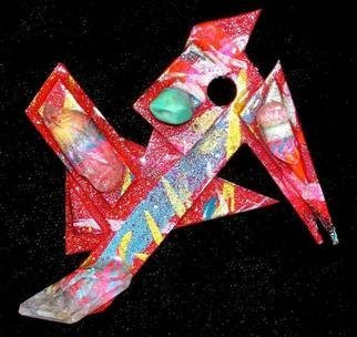 Richard Lazzara Artwork what more pin ornament, 1989 Mixed Media Sculpture, Fashion