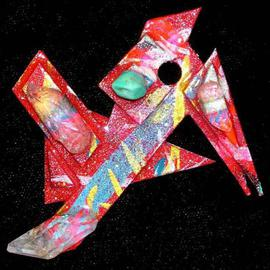 Richard Lazzara: 'what more pin ornament', 1989 Mixed Media Sculpture, Fashion. Artist Description: what more pin ornament from the folio LAZZARA ILLUMINATION DESIGN is available at