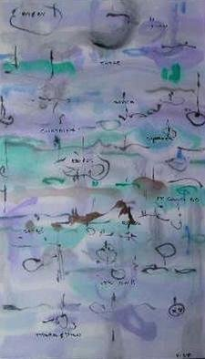 Richard Lazzara Artwork will collect more, 1981 Calligraphy, Visionary