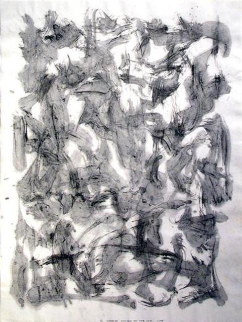 Richard Lazzara  'Wishes On The Void', created in 1975, Original Pastel.