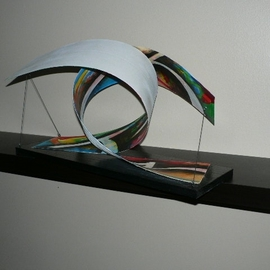 Jean Charles Duffaut Artwork harmony, 2008 Wood Sculpture, Abstract