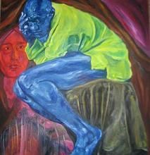 - artwork Simarron-1212608277.jpg - 2008, Painting Oil, Figurative