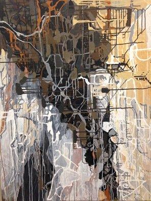 Artist: Shelley Heffler - Title: On the Diagonal - Medium: Acrylic Painting - Year: 2013