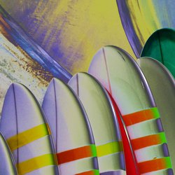 , Surfboards For Sale, Abstract, $2,362