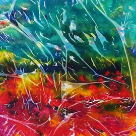 Azhar Shemdin: 'Ascendance', 2013 Acrylic Painting, Abstract. Artist Description:    Liquid acrylic on stretched canvas.     ...