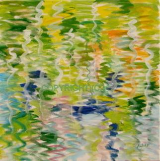 Artist: Azhar Shemdin - Title: Autumn Sonata - Medium: Acrylic Painting - Year: 2008
