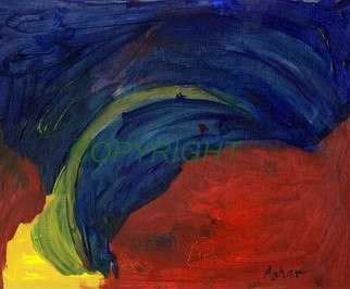 Azhar Shemdin Artwork Blue Wave Red Sea, 2006 Other Printmaking, Abstract