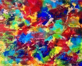Azhar Shemdin: 'Colours of Your Mind', 2016 Acrylic Painting, Abstract. Artist Description: Liquid acrylic on thick canvas paper.  Original painting. ...