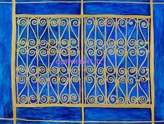 Azhar Shemdin Artwork Golden Railings, 2008 Other Printmaking, Representational