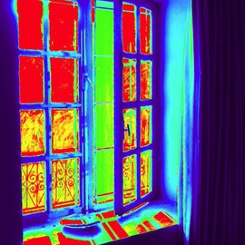 Azhar Shemdin: 'My Bedroom Window', 2012 Digital Photograph, Home. Artist Description: prints...