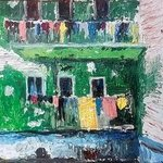 laundry hanging in naples By Dan Shiloh