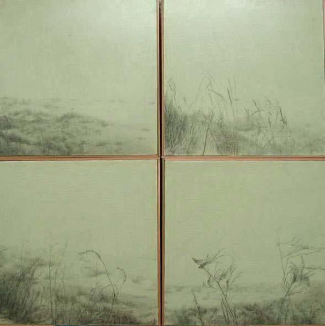 Shin-Hye Park  'Landscape', created in 2004, Original Printmaking Lithography.